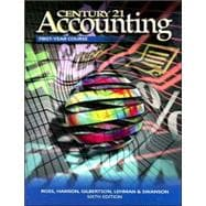 Century 21 Accounting: First-Year Course