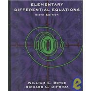 Elementary Differential Equations, 6th Edition