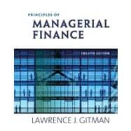 Principles of Managerial Finance & MyFinanceLab with Pearson eText Student Access Code Card Package