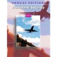 Annual Editions : Homeland Security 04/05