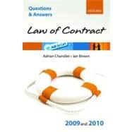 Q & A Law of Contract 2009 and 2010