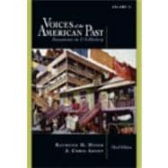Voices of the American Past, Volume II Since 1865 (with InfoTrac)