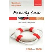 Q and A: Family Law 2007-2008