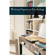 Custom Enrichment Module: Writing Papers in Psychology (with InfoTrac Printed Access Card)