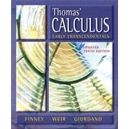 Thomas' Calculus, Early Transcendentals, Media Upgrade