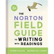 Norton Field Guide to Writing w/ Readings