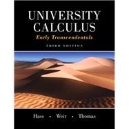 University Calculus, Early Transcendentals