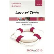 Q and A Law of Torts 2009 And 2010