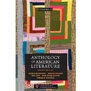 Anthology of American Literature Vol. II : Realism to the Present