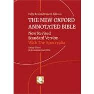 The New Oxford Annotated Bible with Apocrypha New Revised Standard Version, College Edition