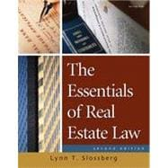 The Essentials of Real Estate Law for Paralegals, 2nd Edition