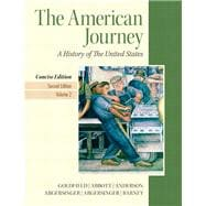 American Journey, The, Concise Edition, Volume 2 Plus NEW MyHistoryLab with eText -- Access Card Package