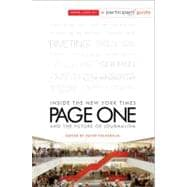 Page One : Inside the New York Times and the Future of Journalism 9781586489601R