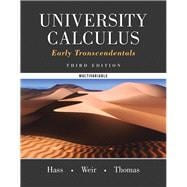 University Calculus Early Transcendentals, Multivariable