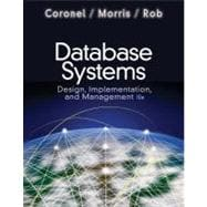 Database Systems Design, Implementation, and Management (with Premium WebSite Printed Access Card and Essential Textbook Resources Printed Access Card)