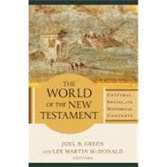 The World of the New Testament 9780801039621R