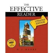 Effective Reader, The, Updated Edition (with Study Card for Vocabulary)