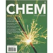 CHEM2: Chemistry in Your World (with LMS Integrated OWLv2 Printed Access Card with MindTap Reader (24 months))