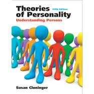 Theories of Personality : Understanding Persons- (Value Pack W/MySearchLab)