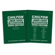 Chilton 2009 Labor Guide Manuals Domestic and Imported
