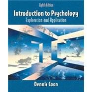 Introduction to Psychology : Exploration and Applications