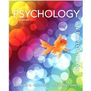 Psychology An Exploration Plus NEW MyPsychLab with eText -- Access Card Package