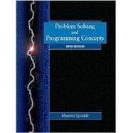 Problem Solving & Prog Concepts (5th Ed)
