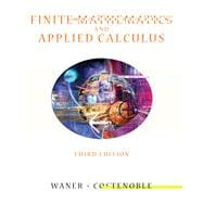 Finite Mathematics and Applied Calculus (with InfoTrac)