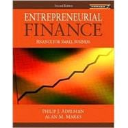 Entrepreneurial Finance : Finance for Small Business