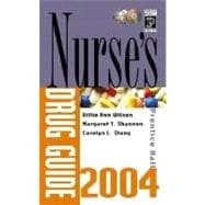 Prentice Hall's Nurse's Drug Guide 2004