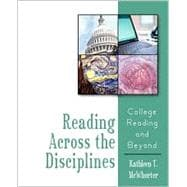 Reading Across the Disciplines: College Reading and Beyond