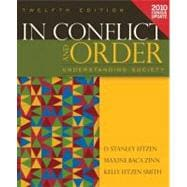 In Conflict and Order : Understanding Society, Census Update