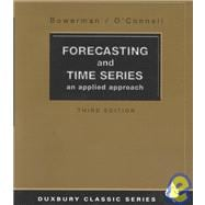Forecasting and Time Series An Applied Approach