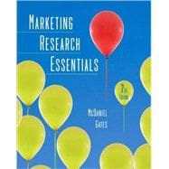 Marketing Research Essentials, 7th Edition