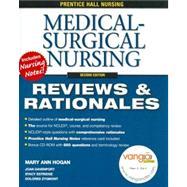 Prentice Hall Nursing Reviews & Rationales Medical-Surgical Nursing