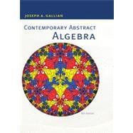 Contemporary Abstract Algebra