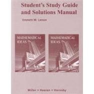 S Study Gd&Sols Mnl Mathematical Ideas