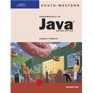 Fundamentals of Java : Introductory