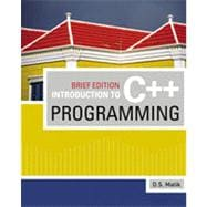 Introduction to C++ Programming, Brief Edition