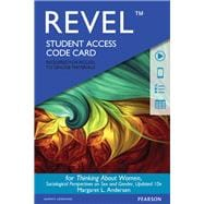 REVEL for Thinking About Women  -- Access Card