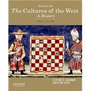 Sourcebook for The Cultures of the West, Volume One