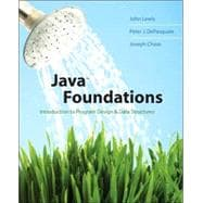 Java Foundations : Introduction to Program Design and Data Structures