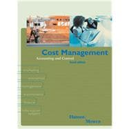 Cost Management : Accounting and Control