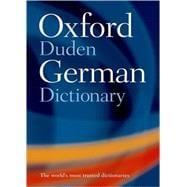 Oxford-Duden German Dictionary German-English � English-German