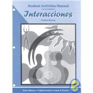 Interacciones: Student Activity Manual