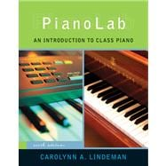 PianoLab An Introduction to Class Piano (with Keyboard for Piano & Guitar and CD)