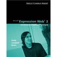 Microsoft Expression Web 2 : Introductory Concepts and Techniques