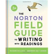 Norton Field Guide to Writing with Readings (with Access Code for The Norton Field Guide To Go)