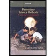 DVD for Martin's Elementary Science Methods: A Constructivist Approach, 5th