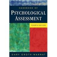 Handbook of Psychological Assessment, 4th Edition